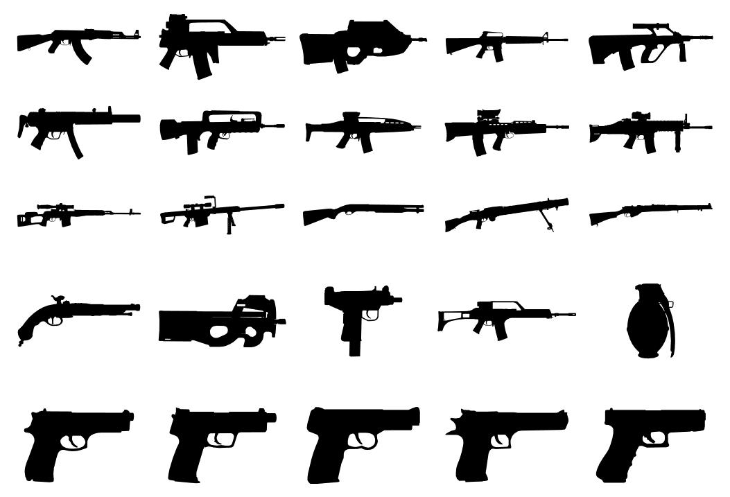 custom guns figure